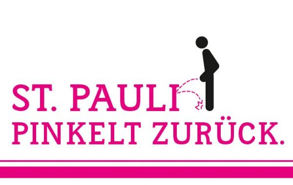 St. Pauli pinkelt zurück.